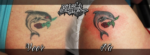 "Cover Up Dolfijn ""Ritchie's Ink"""