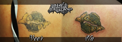 "Cover Up Vissen ""Ritchie's Ink"""