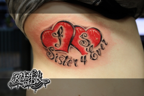 "Sister 4 Ever ""Ritchie's Ink"""