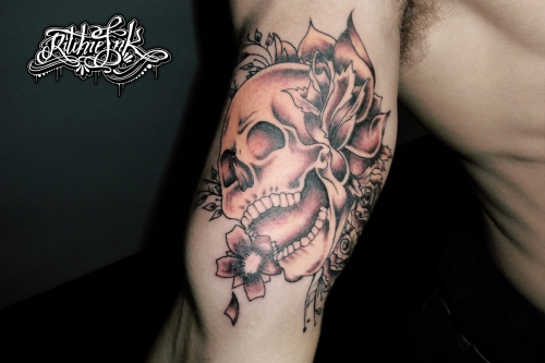 "Skull ""Ritchie's Ink"""