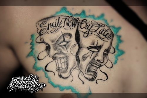 "Smile Now Cry Later ""Ritchie's Ink"""