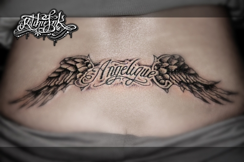 "Wings ""Ritchie's Ink"""