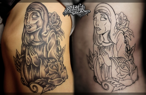 "Cover Up ""Ritchie's Ink"""